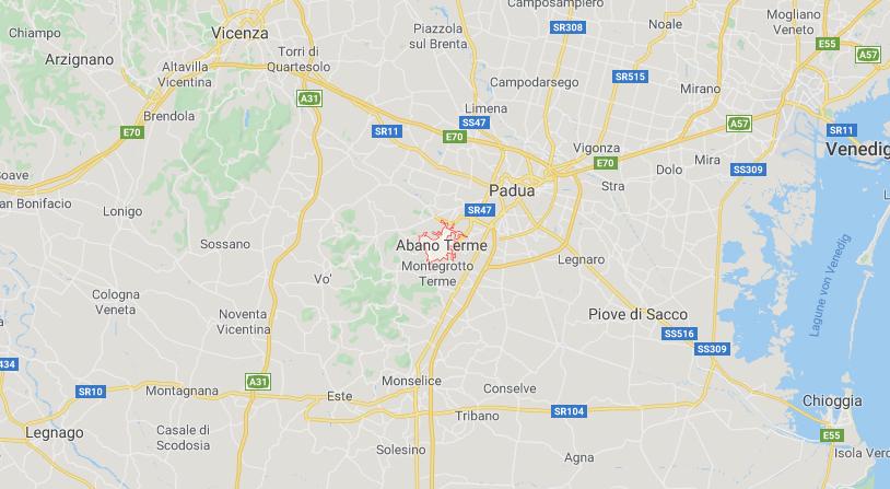Abano-Terme-Italien-Anreise
